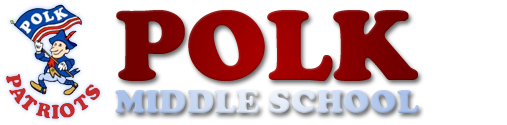 Polk Middle School  Logo